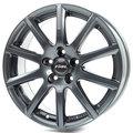 Колесные литые диски Rial Milano 7x17 5x112 ET47 D66.6 Серый матовый (MI70747B62-5) - фото 1
