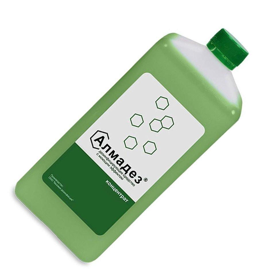 Алмадез, Дезинфицирующее средство с моющим эффектом, 1000 мл