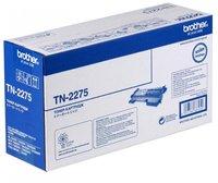 TN-2275 оригинальный картридж Brother для принтеров Brother HL-2240R/ 2240DR/ 2250DNR/ DCP-7060DR/ 7065DNR/ DCP7070/ MFC7360/ MFC7860/ FAX2845/ FAX2940 black (2 600 стр.)