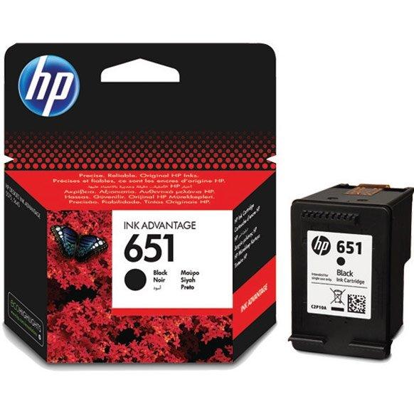 Картридж HP C2P10AE 651 черный для Deskjet Ink Advantage 5645, 5575