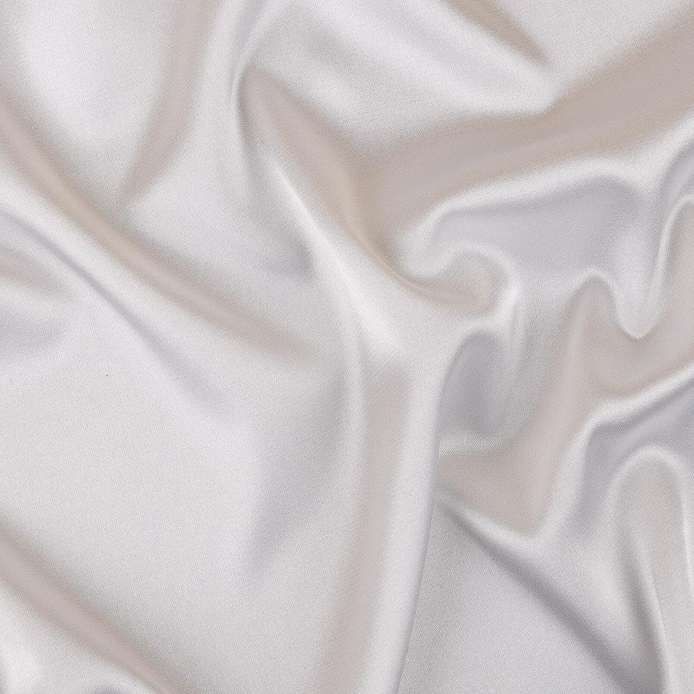 Ткань блузочная PSS-001 Poly satin фасовка 100 г/кв.м ± 5 г/кв.м 45 х 45 см 95% полиэстер, 5% спандекс _белый