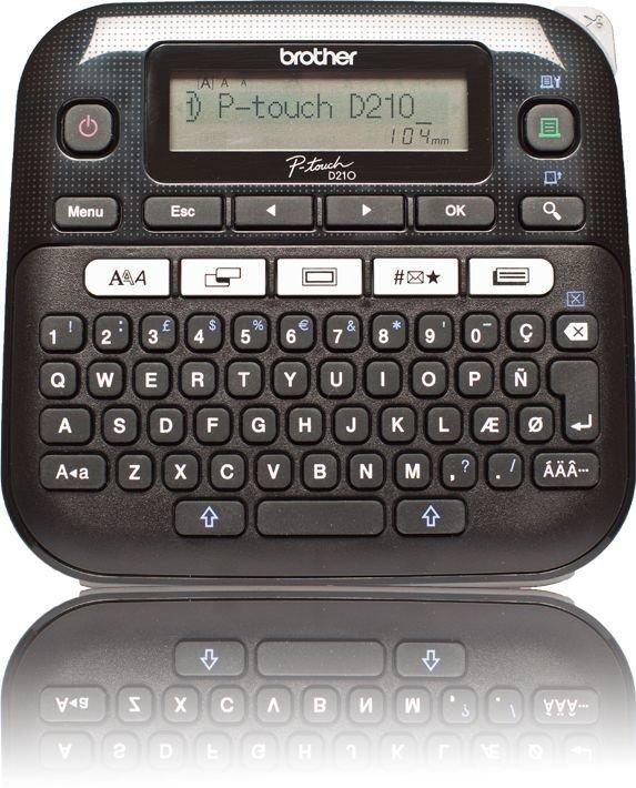 Принтер для чеков Brother P-touch PT-D210, black