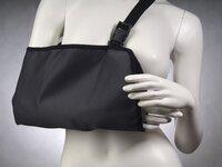 Регулируемая поддерживающая повязка при травмах рук (Косынка) комф-орт К-402 - размер L
