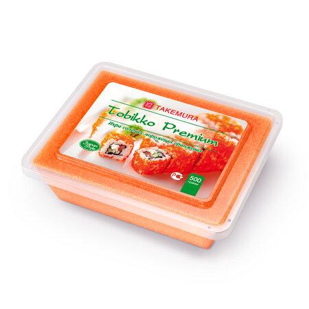 Икра Тобико Такемура оранжевая 500 г