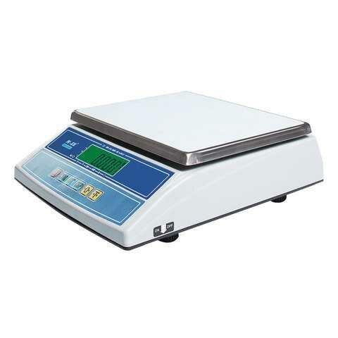 Весы фасовочные MERCURY M-ER 326AF-6.1 LCD (0,04-6 кг), дискретность 2 г, платформа 255x210 мм, без стойки (арт. 290780)