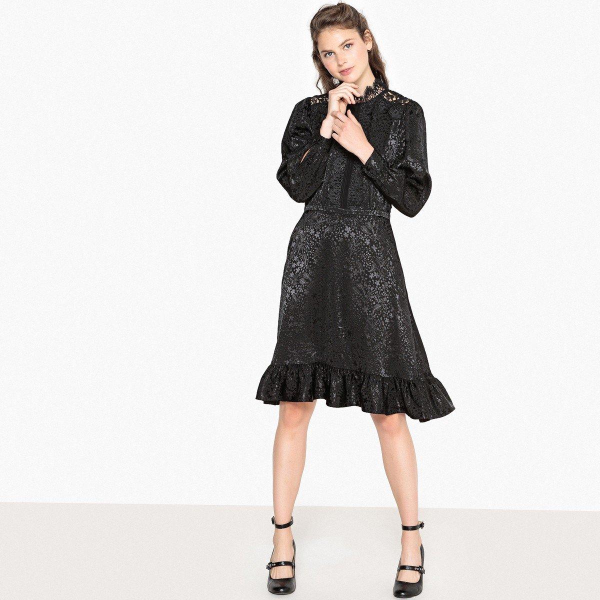 c637c681e82 Платье из кружевного трикотажа купить ▽ в интернет магазине через ...