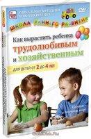 Как вырастить ребенка трудолюбивым и хозяйственным для детей от 2 до 4 лет (DVD)
