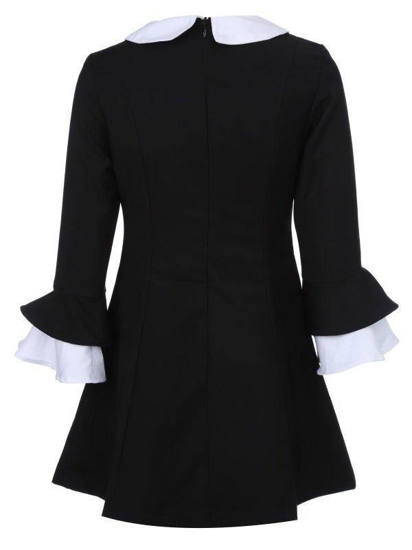 можно сделать картинка черное платье с белым воротником задача прихожей нести
