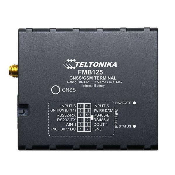 Трекер Teltonika FMB125 (АКБ, внешняя GPS антенна)