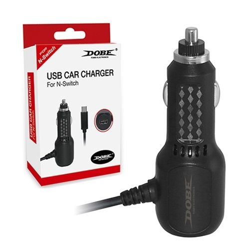Автомобильное зарядное устройство Dobe TNS-870 для Nintendo Switch