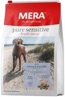 """Сухой корм Mera Pure Sensitive Fresh Meat """"Adult Hering&Kartoffel"""" (Мера Пьюр Сенситив Фреш Мит """"Адалт Геринг & Картоффель"""")для взрослых собак с сельдью и картофелем"""
