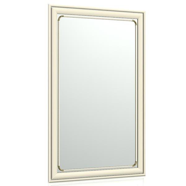 Зеркало для прихожих и комнат 121 50х80 см. рама белая