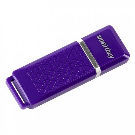 Флешка SmartBuy Quartz 16GB (RTL), Violet