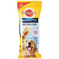 Лакомство Pedigree Дента Стикс для крупных пород собак старше 4-х месяцев 270г