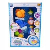 Игрушка для ванны ABtoys в наборе с аксессуарами (5 предметов) - PT-00541
