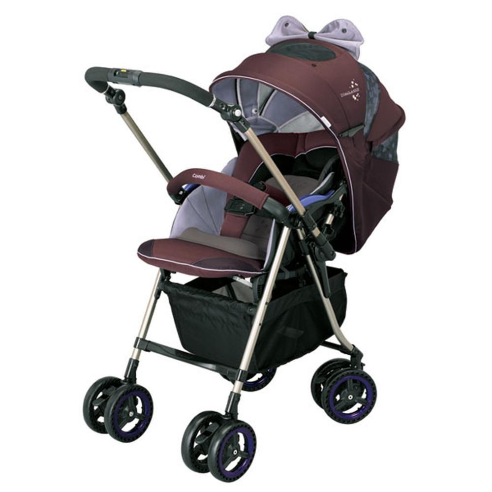 Combi коляска прогулочная miracle turn elite цв.purple