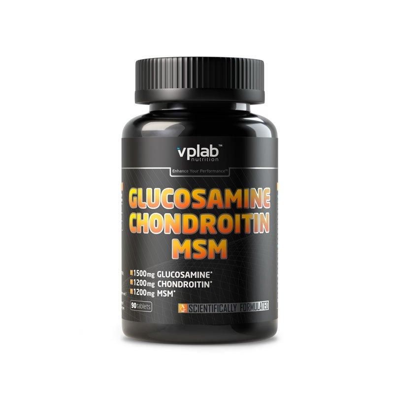Глюкозамин и Хондроитин VP LABORATORY Glucosamine Chondroitin MSM 90 таб