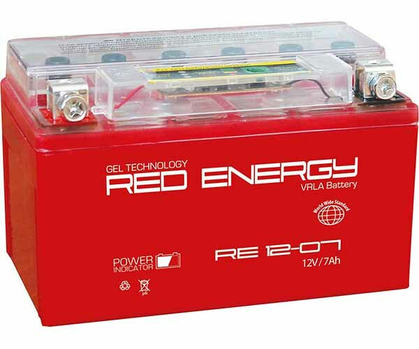Аккумуляторная батарея RED ENERGY RE 12-07