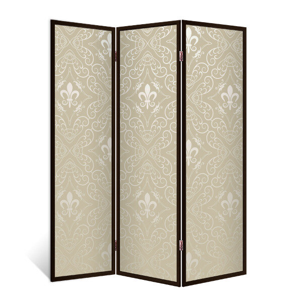 Декор Депо Ширма - перегородка Лилия монарха 3 створки венге