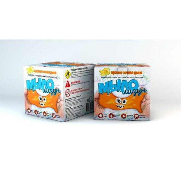 Набор для изготовления мыла Висма Мыло-лизун Сочная дыня