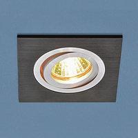 Встраиваемый светильник Elektrostandard 1051/1 BK черный