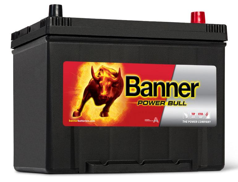 Аккумулятор автомобильный BANNER Power Bull P80 09 6СТ-80 обр. (90D26L) 80Ач обр.