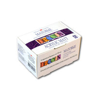 Акриловые матовые краски Decola невская палитра для рисования и декора, набор 6 цветов по 20 мл Невская Палитра 143411020