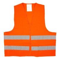 Жилет оранжевый со световозвращающими элементами AIRLINE арт. ARWAV04
