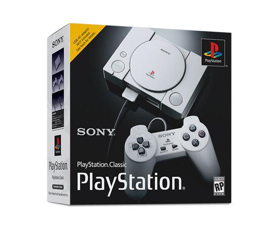 Игровая приставка Sony PlayStation Classic + 20 игр