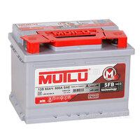 Автомобильный аккумулятор Mutlu Calcium Silver 60R низкий 540A 242x175x175 540А Обратная полярность 60А/ч (242x175x175)