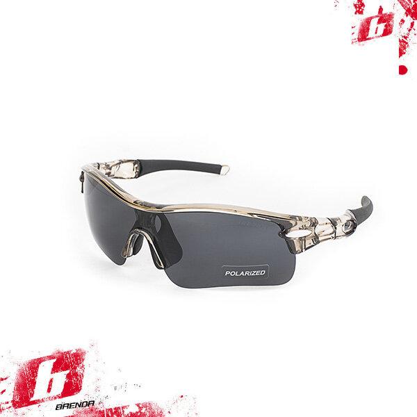Солнцезащитные очки BRENDA мод. L002 C3 white/red