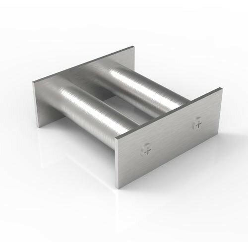 Магнитная решетка 100х100х25 (2 стержня D25 мм)