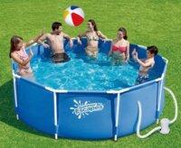 Каркасный бассейн Summer Escapes круглый 305х107 см (фильтр), Р20-1042-A