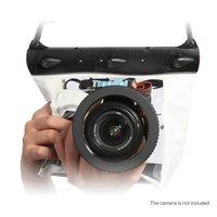 Чехол Водонепроницаемый Для Зеркального Фотоаппарата Для Подводной Съемки Canon, Nikon, Sony, Dslr, Белый