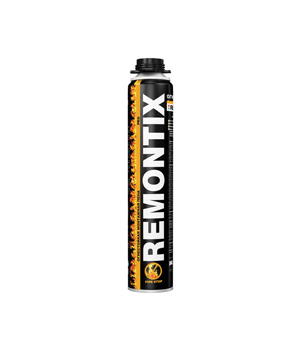 Пена монтажная Remontix Pro огнестойкая профессиональная 750 мл