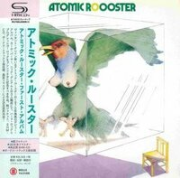 Atomic Rooster - Atomic Rooster/ CD [ SHM-CD/ Cardboard Sleeve ( mini LP)/ + 3 Bonus Tracks/ Obi Strip] [ Limited Edition] ( Remastered, Reissue 2016)