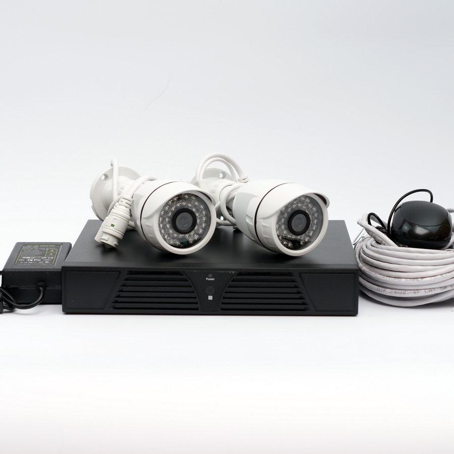 Kadymay Комплект IPKIT2MP-2СB (камеры 2 МП)