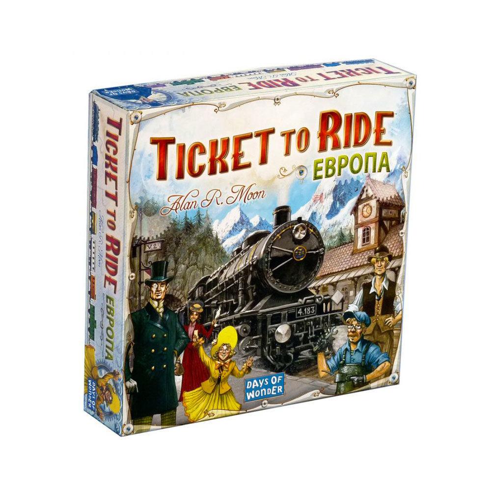 настольная игра ticket to ride купить