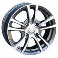 Диски Racing Wheels H-346 6,5x15 5x105 D56.6 ET39 цвет GM/FP - фото 1