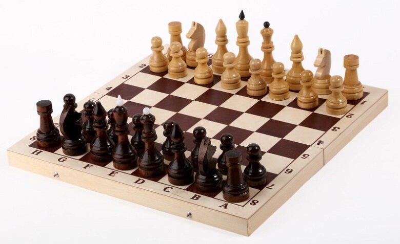 Настольная игра Орловская ладья Шахматы Гроссмейстерские (турнирные) с доской