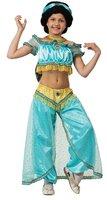 Карнавальный костюм для детей Батик Принцесса Жасмин детский, 38 (146 см)
