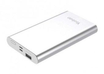 Внешний аккумулятор Yoobao YB-PL10 10000mAh серебряный