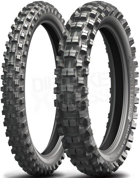 Michelin StarCross 5 Medium 90/100 R21 57M TT Front