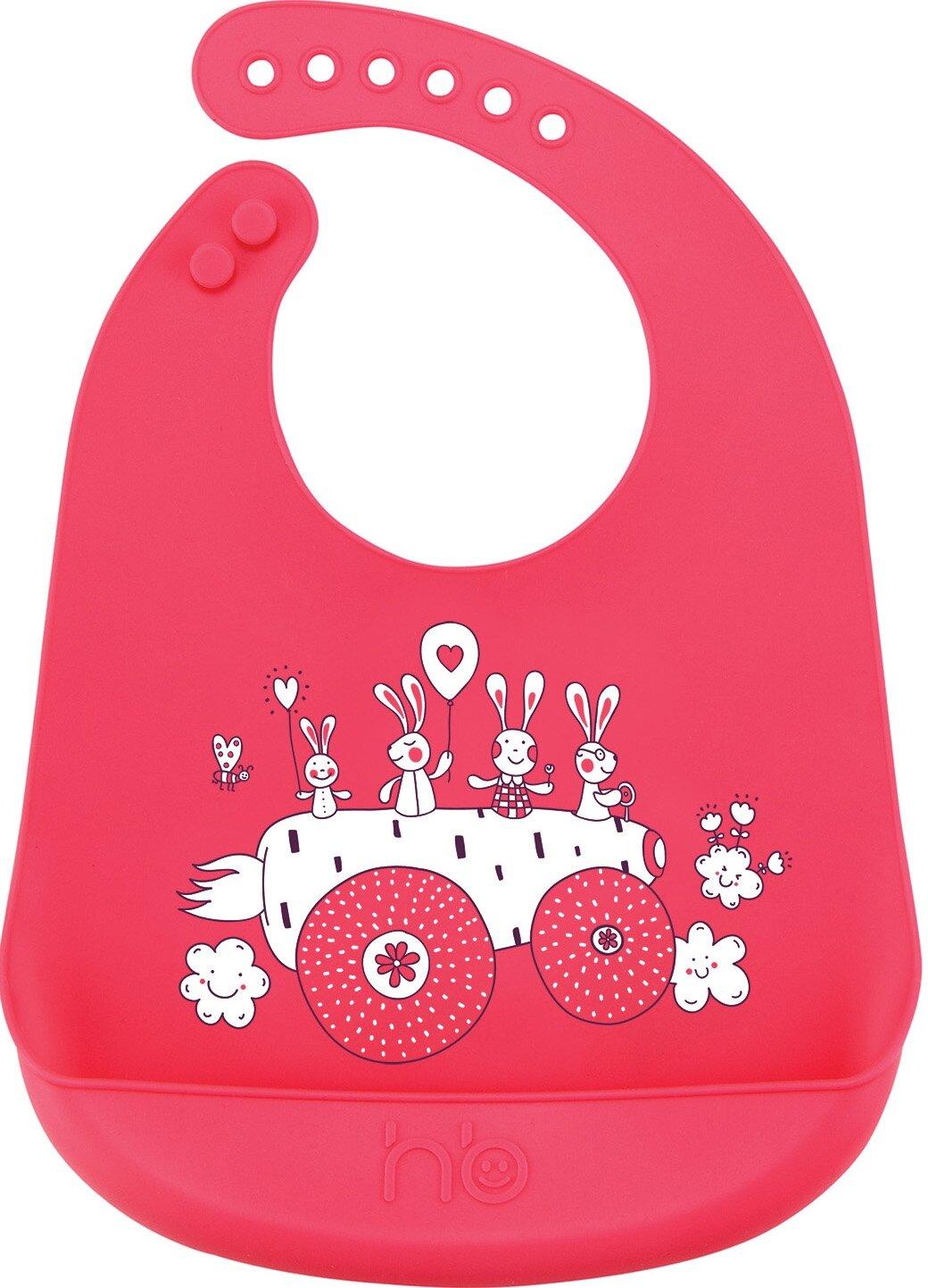 Happy Baby Нагрудник Expert Silicone baby bib