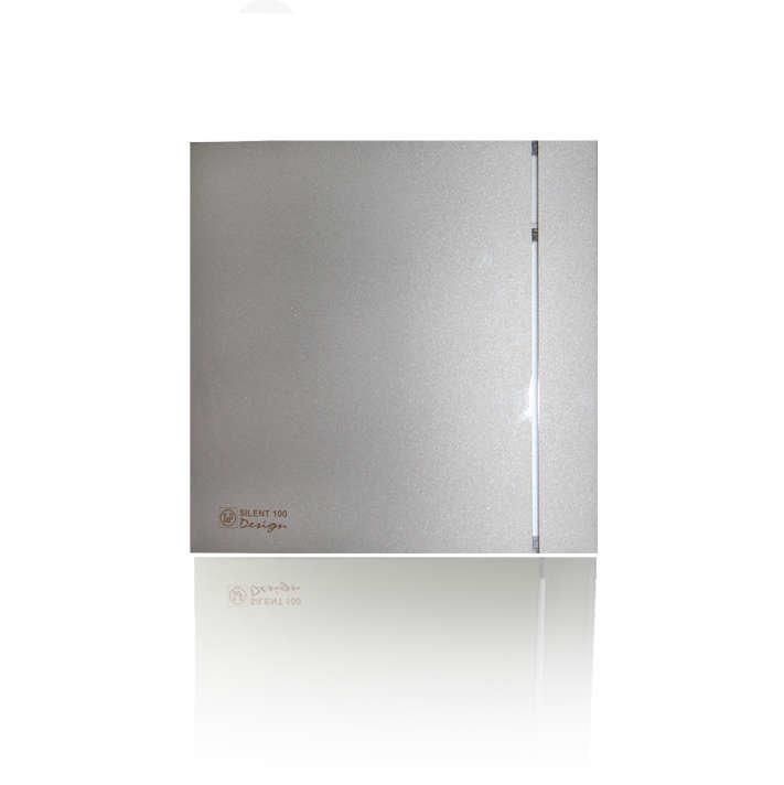 Soler & Palau Вентилятор накладной silent-100 CZ silver design 3c