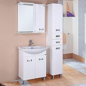 комплект (гарнитур) Мебель для ванной Onika Балтика 60