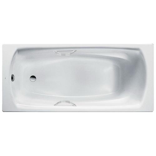 Стальная ванна Roca Swing 170x75 2201E0000 с ручками и с ножками в комплекте