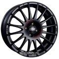 Диск OZ Racing Superturismo GT 7.5x17/5x112 D75 ET50 Matt Black Red Lettering - фото 1