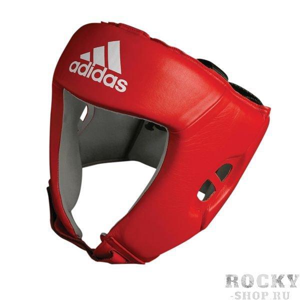 Шлем боксерский для соревнований, Красный Adidas S