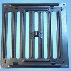 Металлические решетки стандартные Гамарт Решетка щелевая Р 150 (204х204) жалюзи